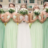Custom Made Bridesmaid Dresses