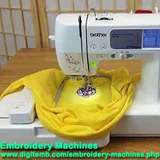 Profile Photos of Brother Embroidery Machines