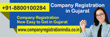 Company Registration Now Easy to Get in Gujarat http://www.companyregistrationindia.co.in/company-registration/gujarat.html  Doing company registration in Gujarat helps in getting company incorporation certificate to launch the business in this reg