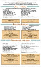 Pricelists of Jim's Homestyle Diner
