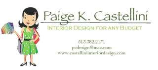 Paige K. Castellini Interior Design & PC Design Inc.