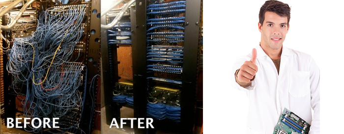 Structured Cabling Profile Photos of Accutel Total Solutions 13014 N Dale Mabry Hwy #238 - Photo 4 of 5