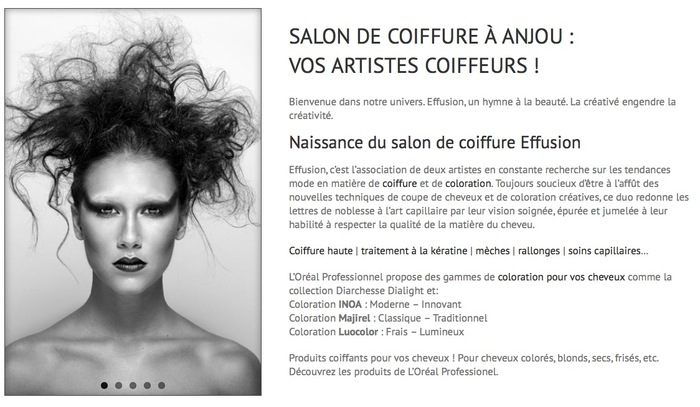 Salon de coiffure à Anjou New Album of Salon de coiffure Effusion à Anjou 9000 Rue Sherbrooke - Photo 1 of 4