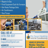 My Guys Heating and Air Conditioning | Heat pump system in Bentonville