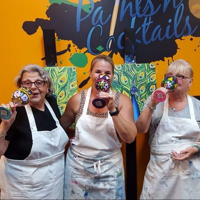 New Album of Paints N' Cocktails 6370 N State Rd 7 #112 - Photo 3 of 4
