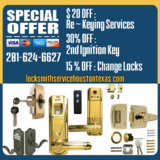 Locksmith Service Houston Texas