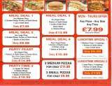 Pricelists of Hot Pizza