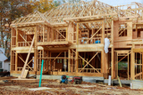 The house is new in wood roofing Single Family Home Construction - Building a New Wood Framed House, Dan's Woodworks LLC, Taylors Falls