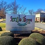 Signboard at Smile Shoppe Pediatric Dentistry Rogers AR