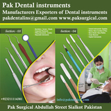 New Album of Pak Dental instruments