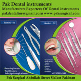 Pak Dental instruments
