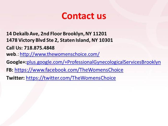 Professional Gynecological Services of Professional Gynecological Services 14 Dekalb Ave, 2nd Floor - Photo 3 of 3