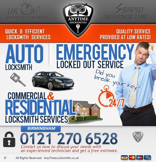 Profile Photos of Anytime Locksmiths Birmingham Colmore Row - Photo 3 of 5