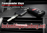 Transponder Keys Locksmith Spartanburg 100 Vanderbilt Ln