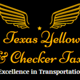 Texas Yellow & Checker Taxi