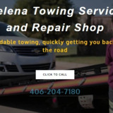 Towing and Repair of Helena MT