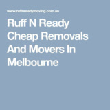 Ruff N Ready Moving