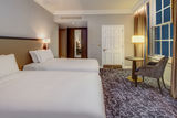 Twin Double Guest Room at Hilton London Euston