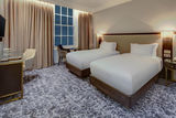 Twin Guest Room at Hilton London Euston