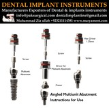 Dental implant instruments of Dental Implant instruments Maryam Enterrpises