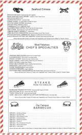 Pricelists of Junior's Most Fabulous Cheesecake and Desserts