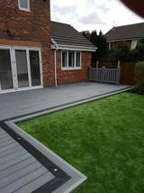 Profile Photos of Composite Decking and Garden Rooms