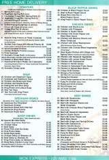 Menus & Prices, Wok Express Chinese Takeaway, Thornton Heath