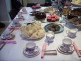Hen Party Styling Vintage Tea Party Sussex 11 Manor Close