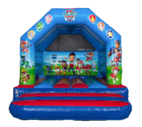 Officially Licenced Paw Patrol 12x12ft Castle St Ives Bouncy Castle Hire Ltd 6 Manor Mews, Bridge Street