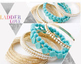 Bohemian Romatic Fashion Bracelet Set Top Collections Co., Ltd. 瑪莎精品有限公司 9F-2, 129, Cheng Kung Rd.