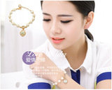lovely wild * pearl jewelry heart-shaped diamond * high quality pearl bracelet Top Collections Co., Ltd. 瑪莎精品有限公司 9F-2, 129, Cheng Kung Rd.
