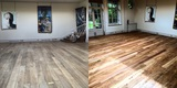 Before and After: Floor Restoration for an Art Gallery