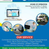 Boom Cleaning Works | Domestic House Cleaners in Melbourne