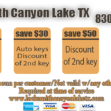Locksmith Canyon Lake TX