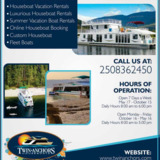 Shuswap lake Houseboats | Twin Anchors Houseboat Vacations