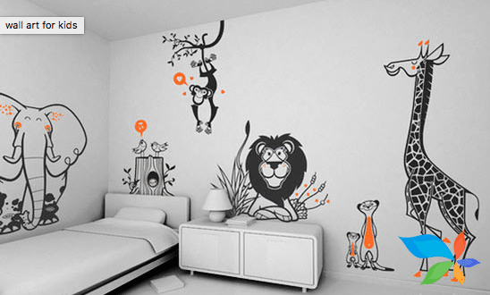 Kids Art Work Painting Contracters of Painting Contracters & Services In Chennai | Paint Decors No 39, B.E.Colony, 4Th Street, Kodambakkam, Chennai - Photo 6 of 9