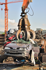 Thousands of old cars will be destroyed at the scrapyard in Germany GLR Advanced Recycling – Metal and Cars 12600 Stark Road