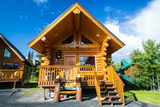 Luxury cabin on the Kenai River