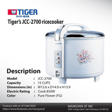 Commercial Rice Cooker of Mangvanusa restaurants supply