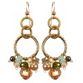Profile Photos of Anna Balkan Designer Jewelry - Gemstone Hoop Earrings - Gem Hoop Earri