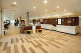 Lobby at Hampton by Hilton London Stansted Airport