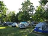 Tent, trailer, and RV camping - both serviced and unserviced.