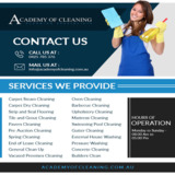 Academy of Cleaning-Commercial Cleaning