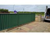 Green ColourFence, ColourFence Garden Fencing - Harborough, Kibworth, Kibworth Beauchamp, Leicester