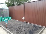 Brown ColourFence, ColourFence Garden Fencing - Harborough, Kibworth, Kibworth Beauchamp, Leicester