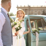 Classic wedding cars, Classic car hire, Vintage wedding cars