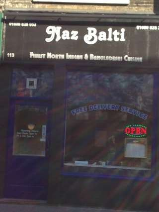 Naz Balti Indian Takeaway & Delivery Service