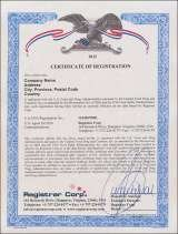 We provide third-party facility registration certification.