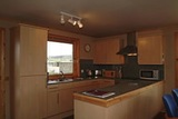 Kitchen with all the modern cons, Buxa Farm Chalets & Croft House, Orphir