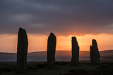 The Ring of Brodgar is close to Buxa and is a neolithic henge monument with a stone circle in Orkney, Scotland. It is over 300 feed in diameter and of the original 60 stones 27 remained standing into the 20th Century.  It is part of the UNESCO World Herit